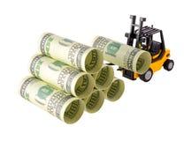 Штабелировать денег Стоковое Изображение