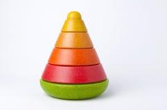 Штабелировать игрушки стоковое изображение