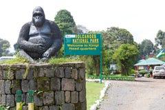 Штабы национального парка вулканов Стоковое фото RF