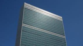 Штабы ООН в Nyc Стоковая Фотография RF