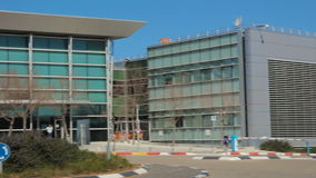 Штабы шоссе 6 и здание центра управления сток-видео