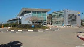 Штабы шоссе 6 и здание центра управления видеоматериал