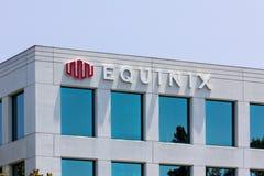 Штабы Equinix корпоративные стоковое изображение rf