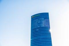 Штабы Iberdrola, Испания стоковое фото rf