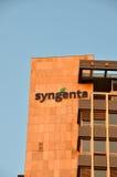 Штабы Syngenta в Базеле, Швейцарии Стоковые Изображения RF