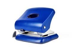 Штамповщик отверстия офиса бумажный изолированный на белой предпосылке Стоковые Изображения