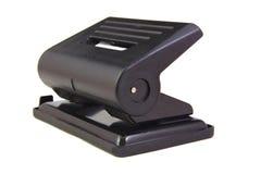 Штамповщик черной дыры изолированный на белой предпосылке Стоковая Фотография RF
