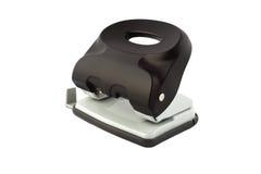 Штамповщик черной дыры изолированный на белой предпосылке Стоковая Фотография