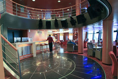 Штанга в Superfast корабле Стоковые Фотографии RF