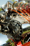 штанга двигателя горячая Стоковое Фото