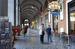 Штанга кофе в Рим Стоковая Фотография RF