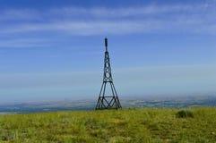 Штанга освещения на верхней части горы Стоковые Изображения