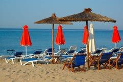 Штанга пляжа Стоковое фото RF