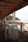 Штанга пляжа, Skiathos стоковые изображения