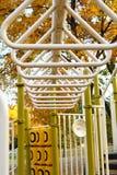 Штанги обезьяны спортивной площадки Стоковая Фотография RF