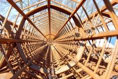 штанги подкрепления стальные Стоковые Фото
