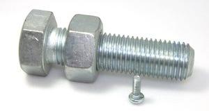 штанги стальные Стоковое фото RF