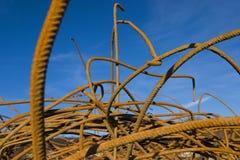 штанги metal ржавое Стоковая Фотография RF