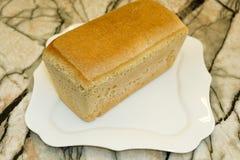 Штапель изолированный хлебом одиночный spiced пряный квадратный стоковое изображение rf