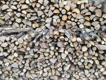 Штапель древесины стоковая фотография rf