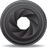 Штарка объектива фотоаппарата Стоковые Изображения RF