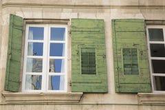Штарка окна, Франция стоковые изображения