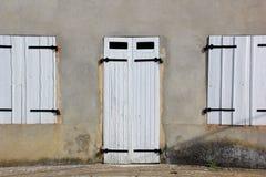 Штарки двери и окна Стоковые Фото