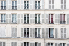 Штарки окна Стоковая Фотография