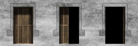 Штарки Windows Стоковое фото RF