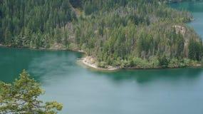 Штат Вашингтон Диабло озера, США стоковая фотография rf