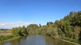 Штат Вашингтон охраняемой природной территории Ridgefield национальный Стоковые Фото