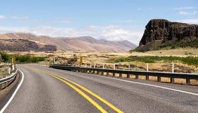 Штат Вашингтон парка штата Columbia Hills Butte Horsethief Стоковая Фотография