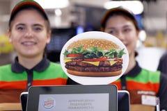 Штат ресторана Burger King стоковые фото