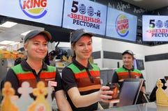 Штат ресторана Burger King стоковое фото