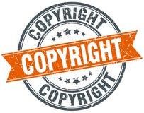Штемпель авторского права иллюстрация вектора