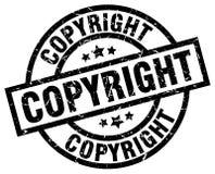 Штемпель авторского права бесплатная иллюстрация