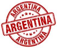 Штемпель Аргентины иллюстрация вектора