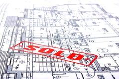 штемпель архитектурноакустических планов стоковые фотографии rf