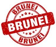 Штемпель Брунея иллюстрация штока