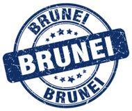 Штемпель Брунея иллюстрация вектора