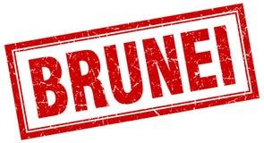 Штемпель Брунея бесплатная иллюстрация