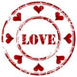 Штемпель влюбленности Стоковые Фотографии RF