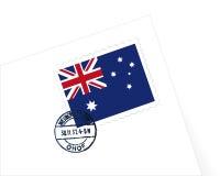 штемпель иллюстрации Австралии Стоковое фото RF