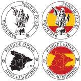 Штемпель испанского языка иллюстрация вектора