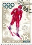 штемпель кататься на коньках льда Стоковая Фотография