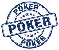 Штемпель покера Стоковое Изображение