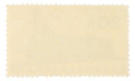 штемпель почтоваи оплата задней стороны Стоковые Изображения RF