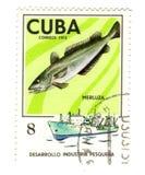 штемпель почтоваи оплата Кубы старый Стоковые Фотографии RF