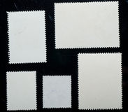 штемпель почтоваи оплата рамки Стоковое Изображение RF