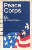 штемпель почтоваи оплата США Стоковое фото RF